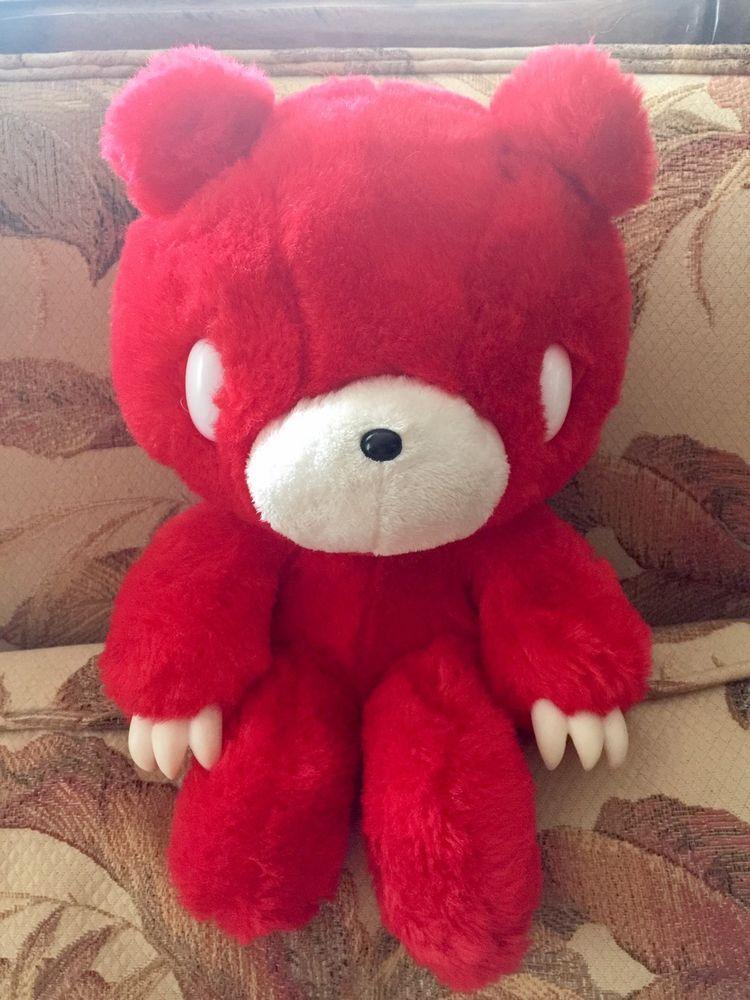 Gloomy bear taito red anime stuffed animaldoll plush