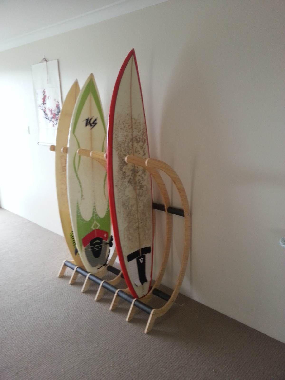 Freestanding Surfboard Rack   Surfing Shortboards   Seabreeze Forums!