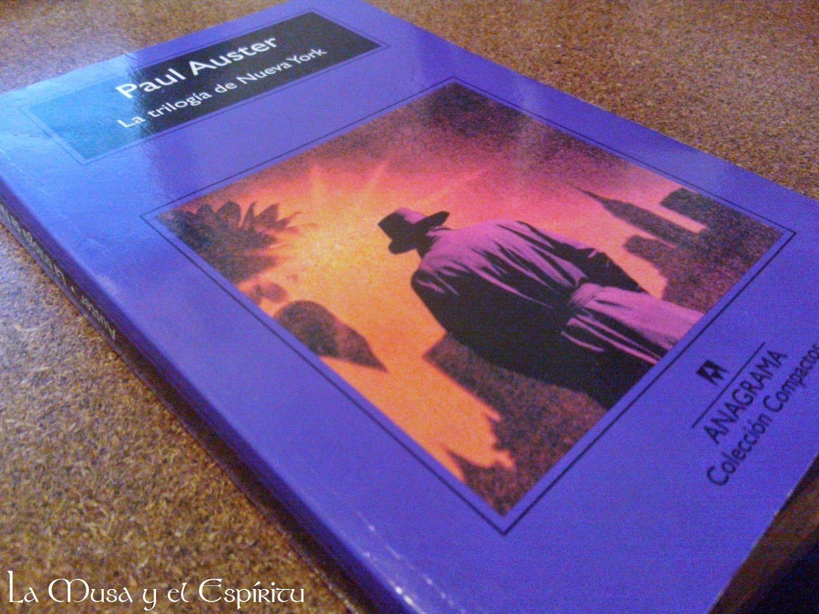 La musa y el espíritu: Crítica: La trilogía de Nueva York. Paul Auster.