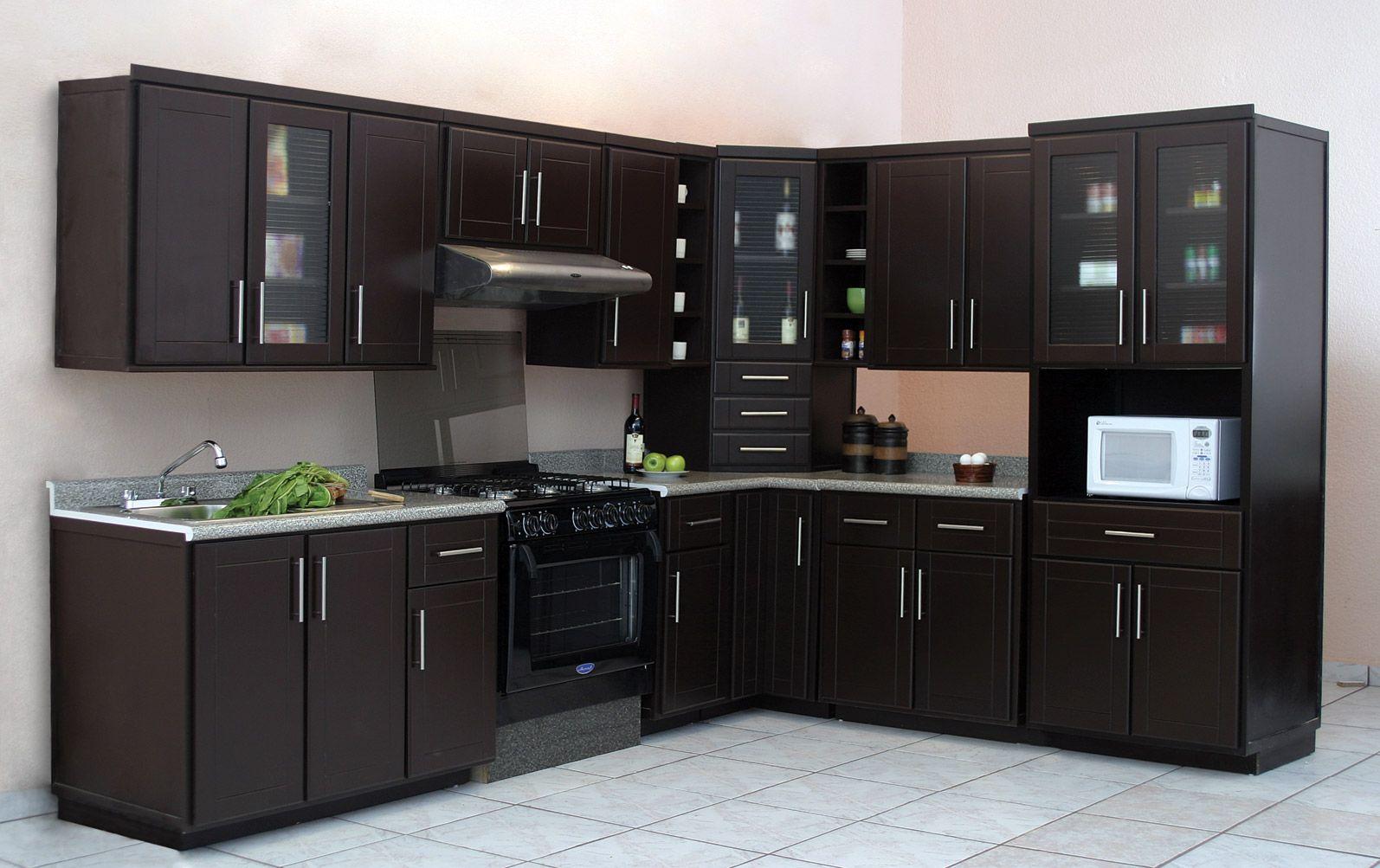 Ideas De Diseo De Interiores 10 Fotos De Cocinas Con Gabinetes Color Cocina Chocolate Escuadra Cocina Chocolate 4f8ded382aa0f  Cocinas