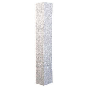 This Silver Shimmering Square Column Slip fits perfectly over a ...