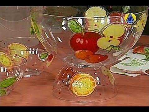 Sabor de Vida Artesanatos | Adesivagem para Pote de Cozinha - 13 de Novembro de 2012 - YouTube