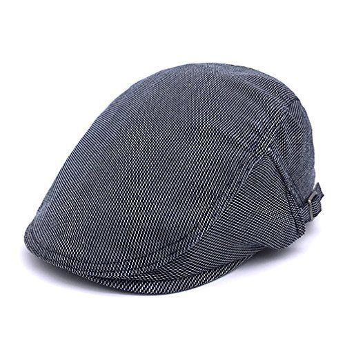 Denim Newsboy Cap Beret Driving Cabbie Caps Men Flat Caps... https   48d324e35892