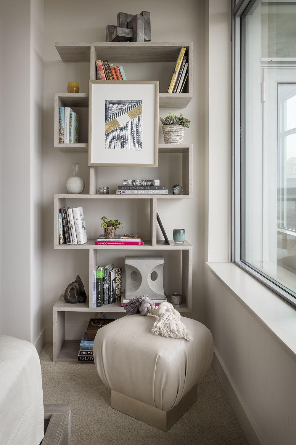 Handsome High Rise Condo interior, Small space living