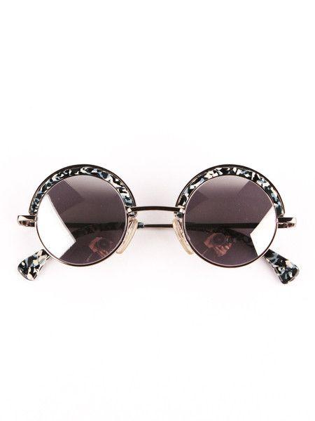 Vintage Alain MIkli / Round Sunglasses