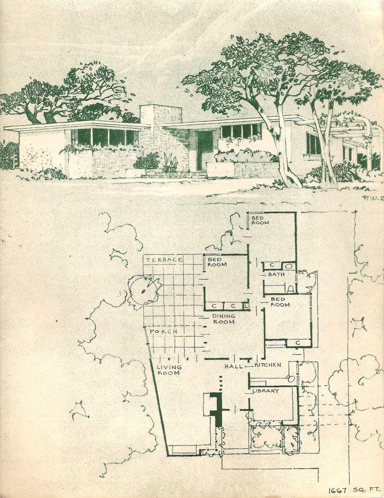 The Mid West Mcm Floor Plans Modern House Plans
