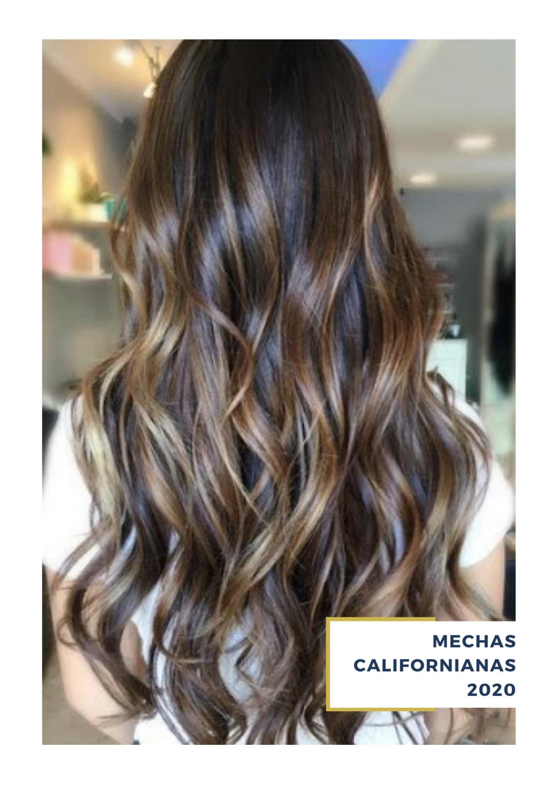Variedad De Mechas Californianas 2020 Para Morenas Rubias Castañas Tiger Eye Hair Color Brunette Hair Color Balayage Hair