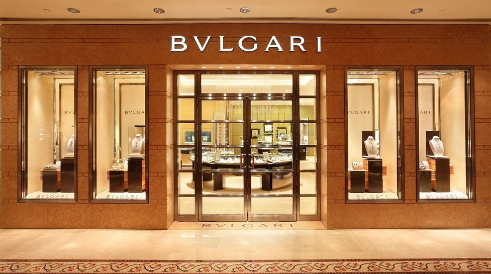 Bvlgari Store In Macau At The Wynn Jpg 977 545 Store Design Interior Retail Store Design Shop Design