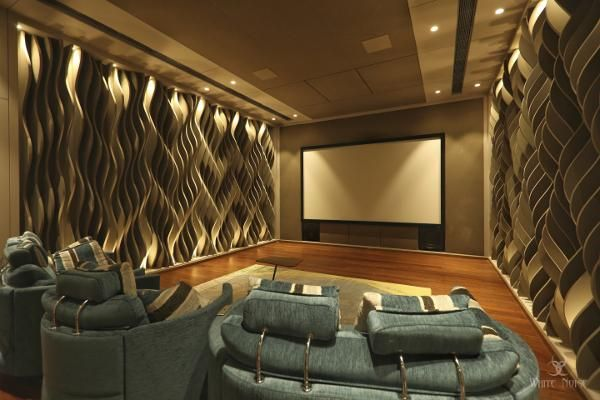 This Home Theater Puts Acoustics Front and Center #audiovideo