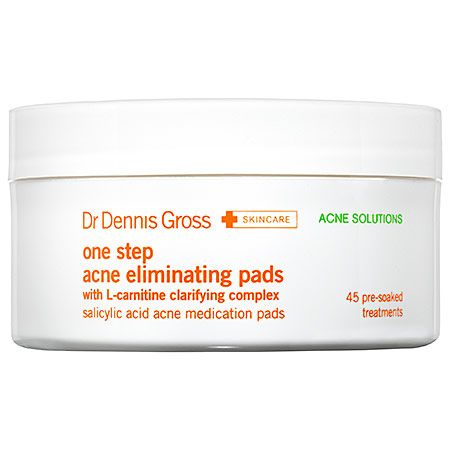 One Step Acne Eliminating Pads - Dr. Dennis Gross Skincare | Sephora