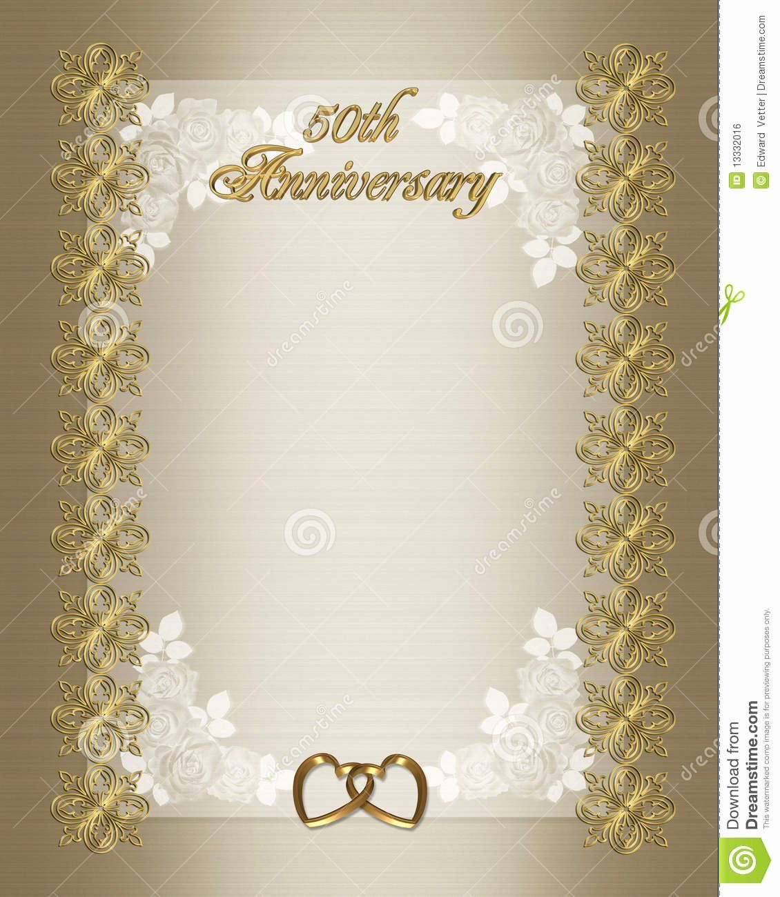 Free 50th Anniversary Invitation Templates Lovely 50th Weddin 50th Wedding Anniversary Invitations Wedding Anniversary Invitations 50th Anniversary Invitations