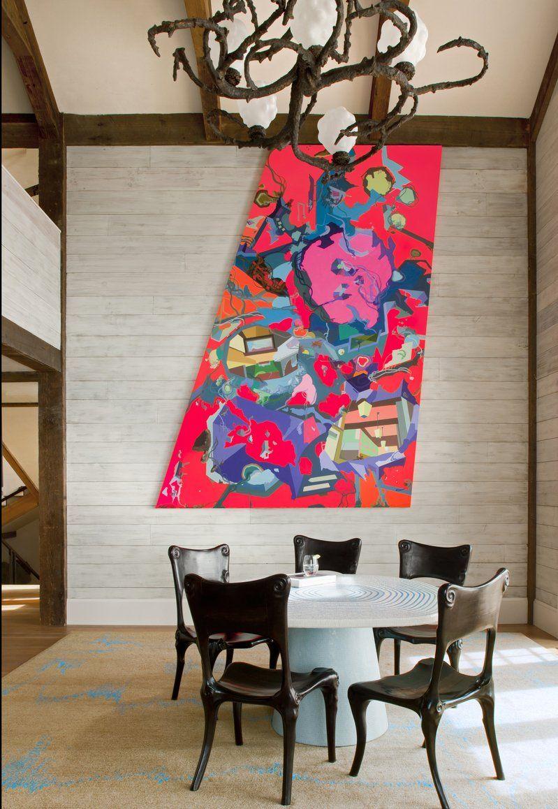 Modern garden wall art  See more of Frank de Biasi Interiorsus Aspen on stdibs  Art