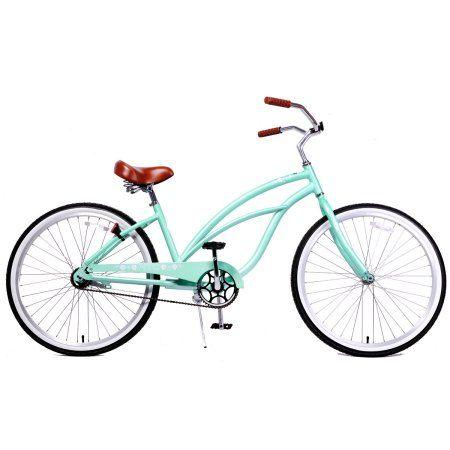 Aluminum Light Weight Beach Cruiser Bike Vanilla Fito Marina Alloy 1-speed