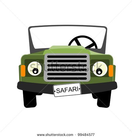 Cartoon Jeep Clip Art Royalty Free Stock Image Jeep Truck Outline
