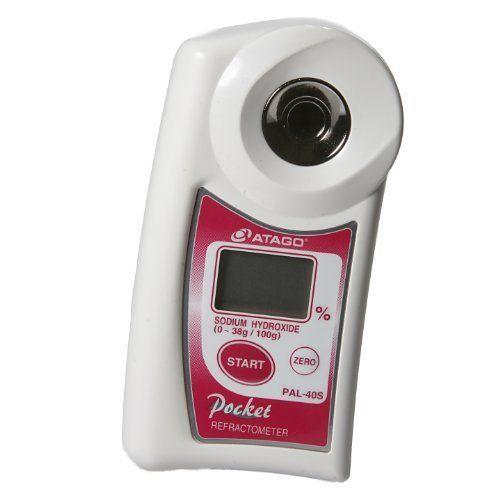 Atago 4440 PAL-40S Digital Hand-Held Pocket Alkaline Liquid - best of cole parmer temperature probe