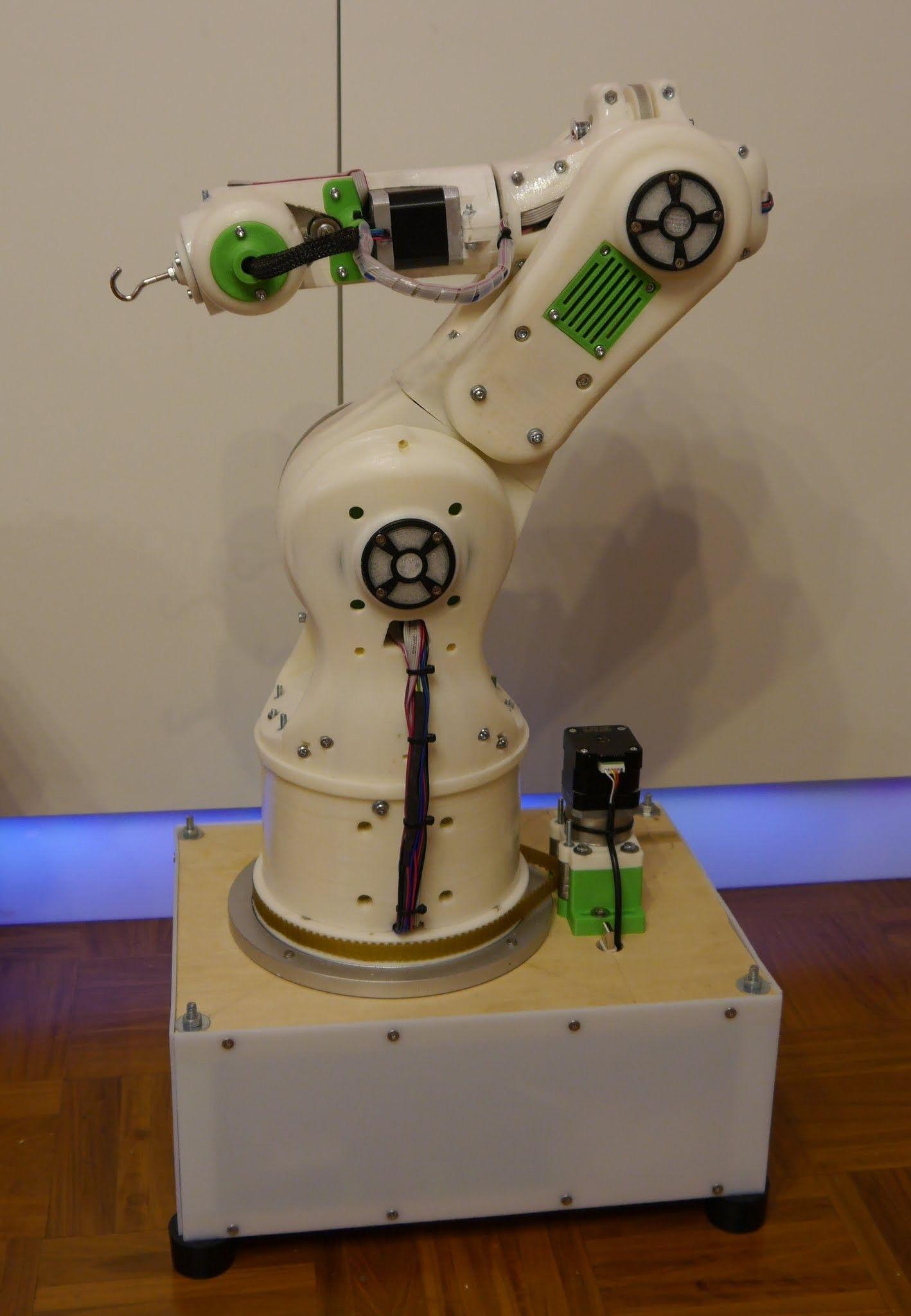 Betabots 3d printable robot arm robot arm robotic arm diy