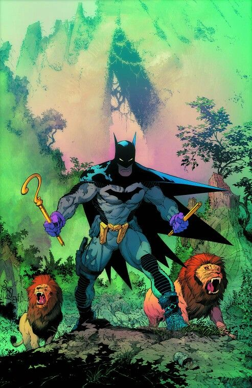 Batman is even King of the Jungle lol