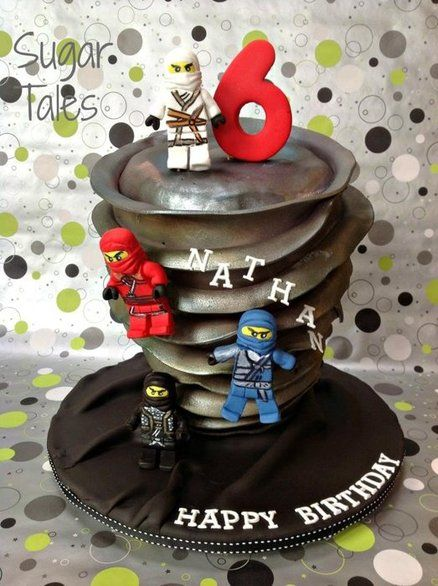 Lego ninjago cake by sugartales ninjago pinterest - Billige weihnachtsdeko ...