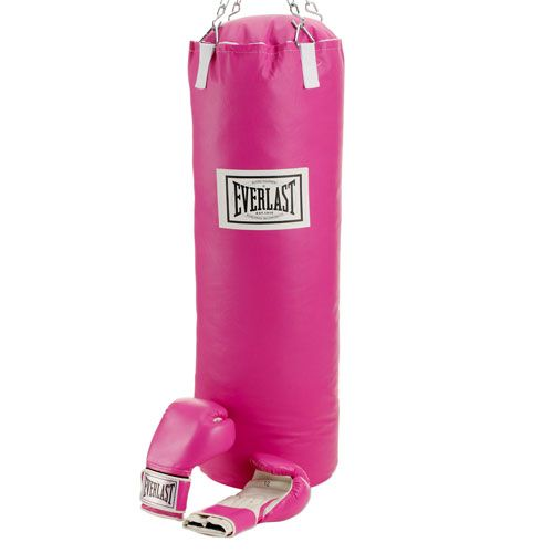 Everlast - Pink Gloves and Punching Bag | Heavy bags, Boxing glove bag,  Everlast