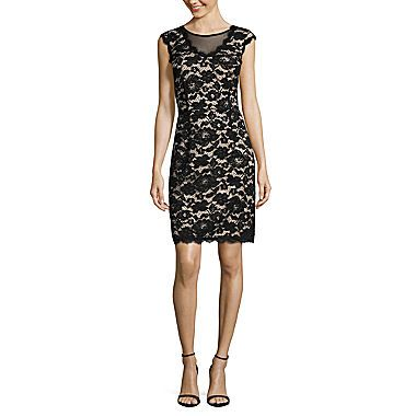 FREE SHIPPING AVAILABLE! Buy nicole by Nicole Miller® Sleeveless V-Neck Lace Dress at JCPenney.com today and enjoy great savings.