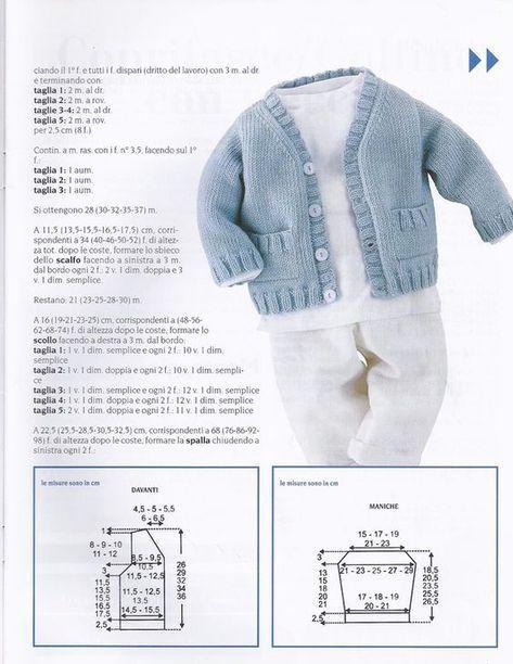 Photo of cardigan con bottoni #knitting patterns free cardigans kids