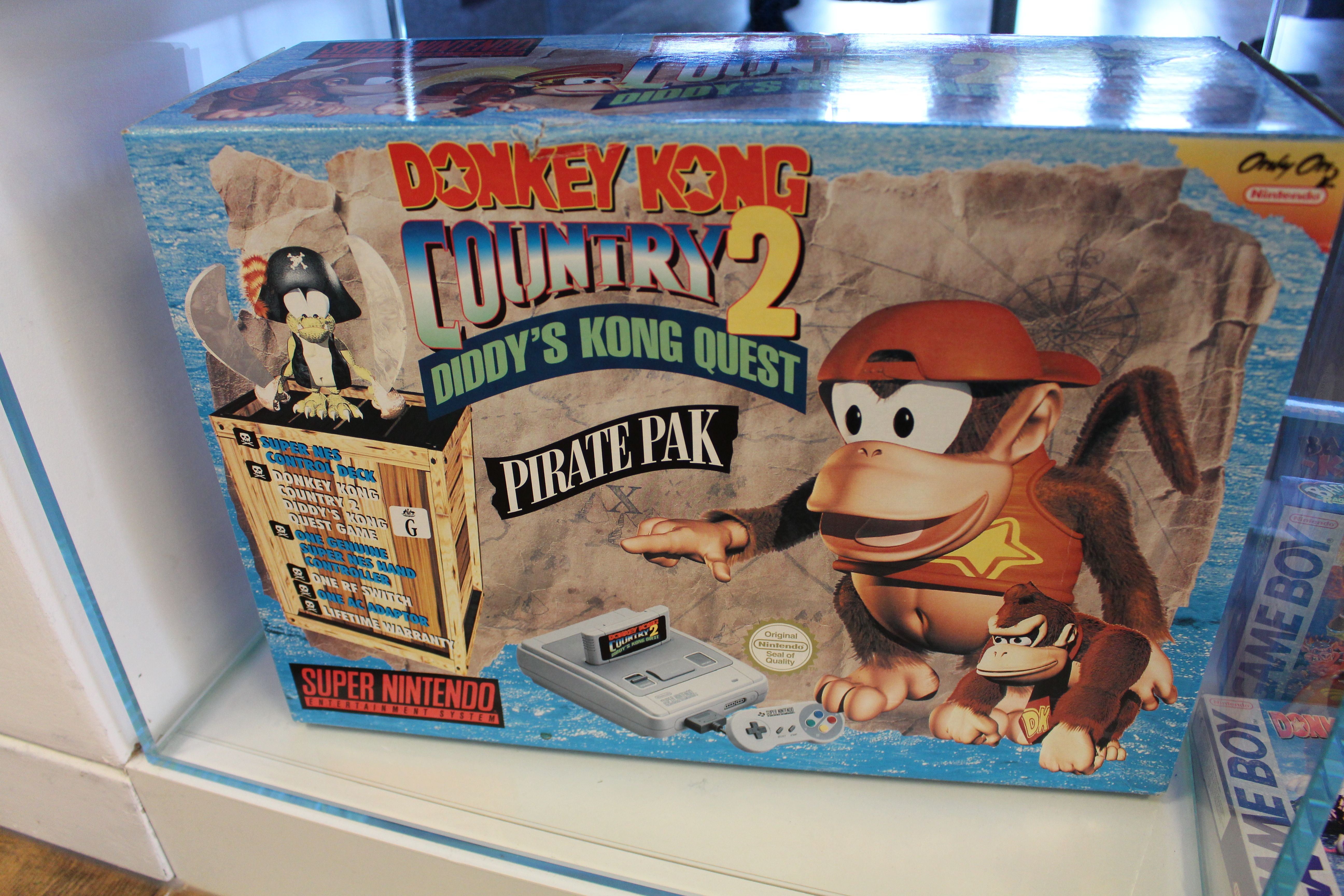 Donkey Kong Country 2 Pirate Pak in the Rare canteen