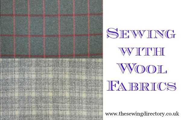 Guide to sewing with wool fabrics by Remnant Kings