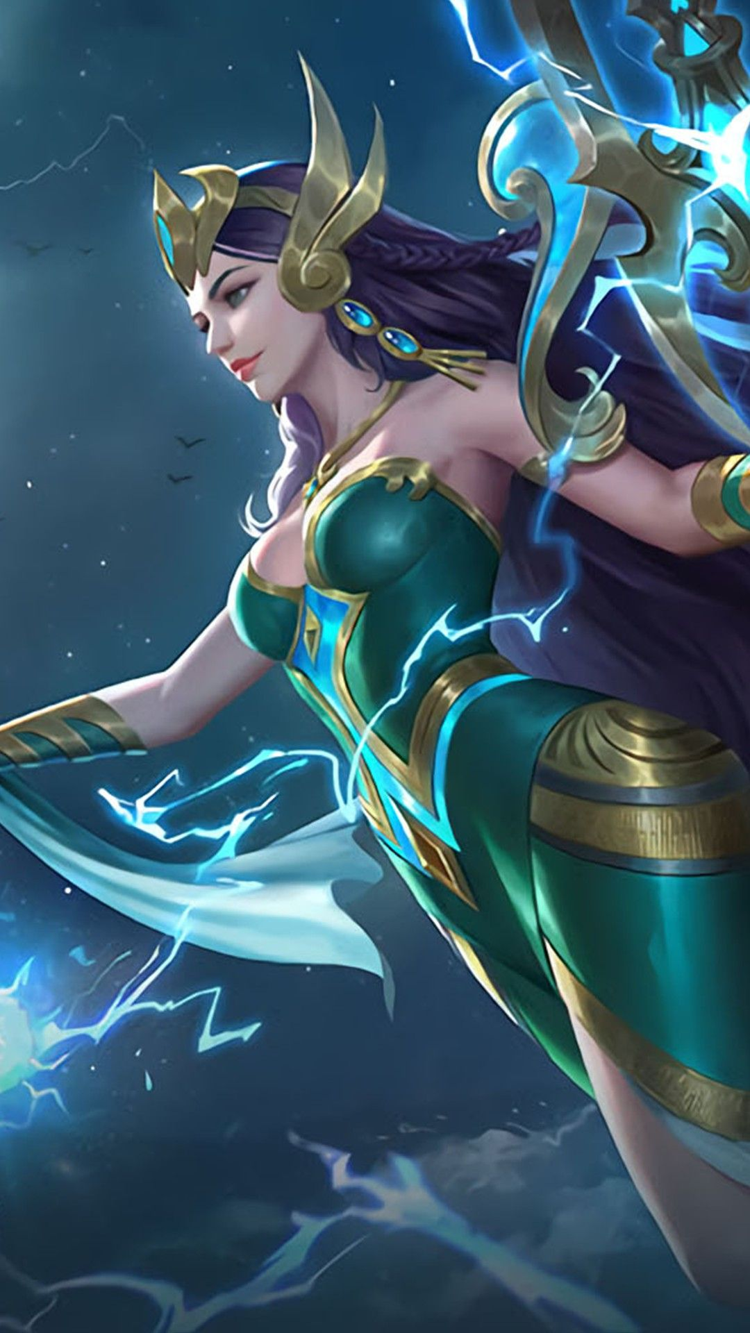 Kadita Ocean Goddess Heroes Mage Of Skins New Mobile Legends