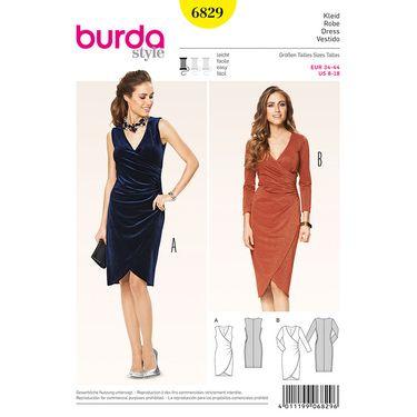 Burda 6829 Women\'s Dress 8 - 18 | Spotlight Australia | Шитье ...