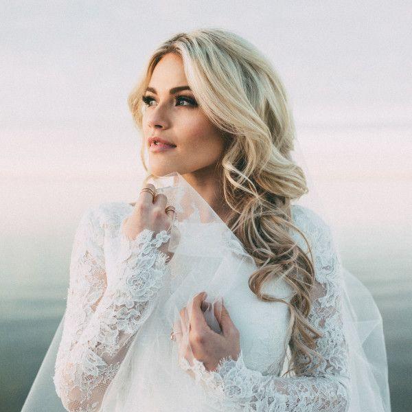 Whitney Carson Wedding Hair Style: India Earl Photography