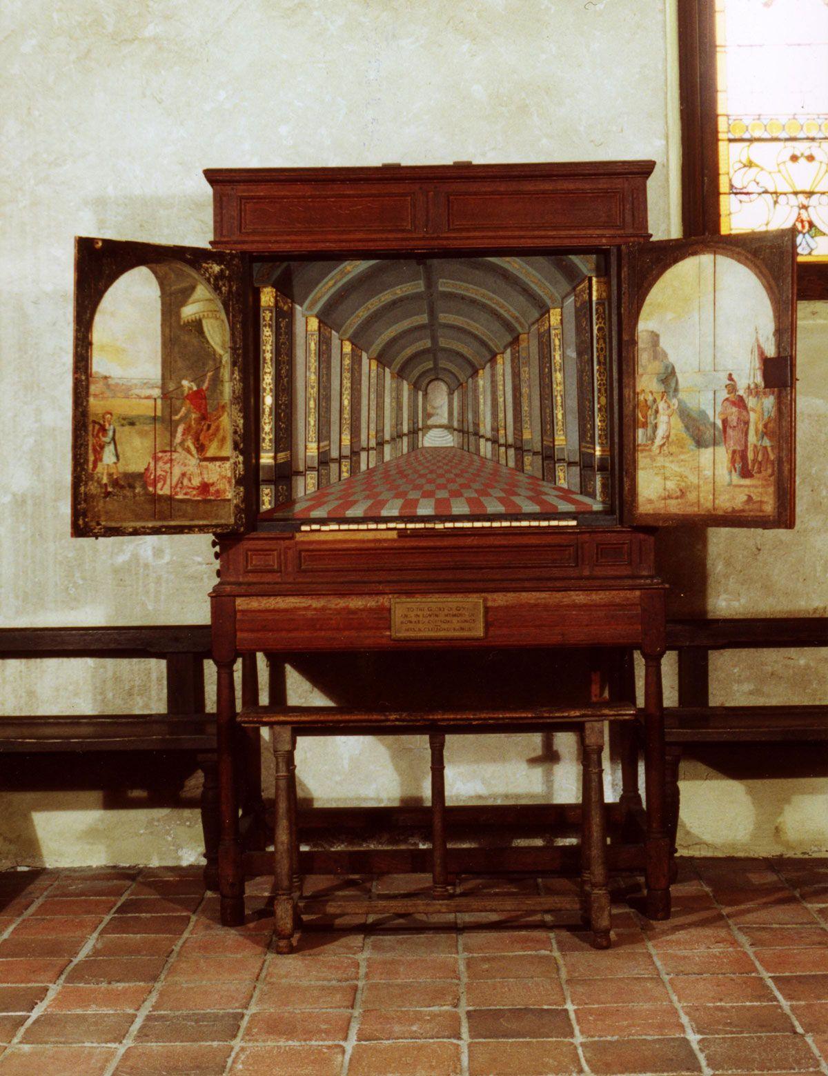1630 ENGLISH CHAMBER ORGAN Organs, Smithfield virginia