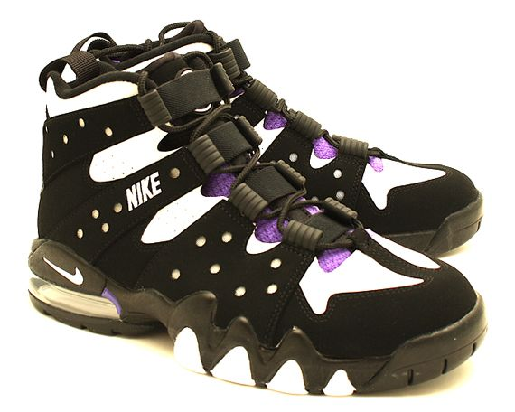 buy online f6404 5404f ... netherlands nike air max 2 charles barkley 94 black white pure purple  23d1a 7f3a9