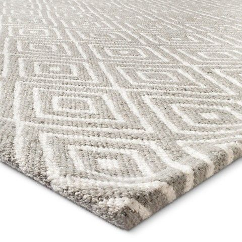 Threshold Indoor Outdoor Flatweave Diamond Rug Rugs