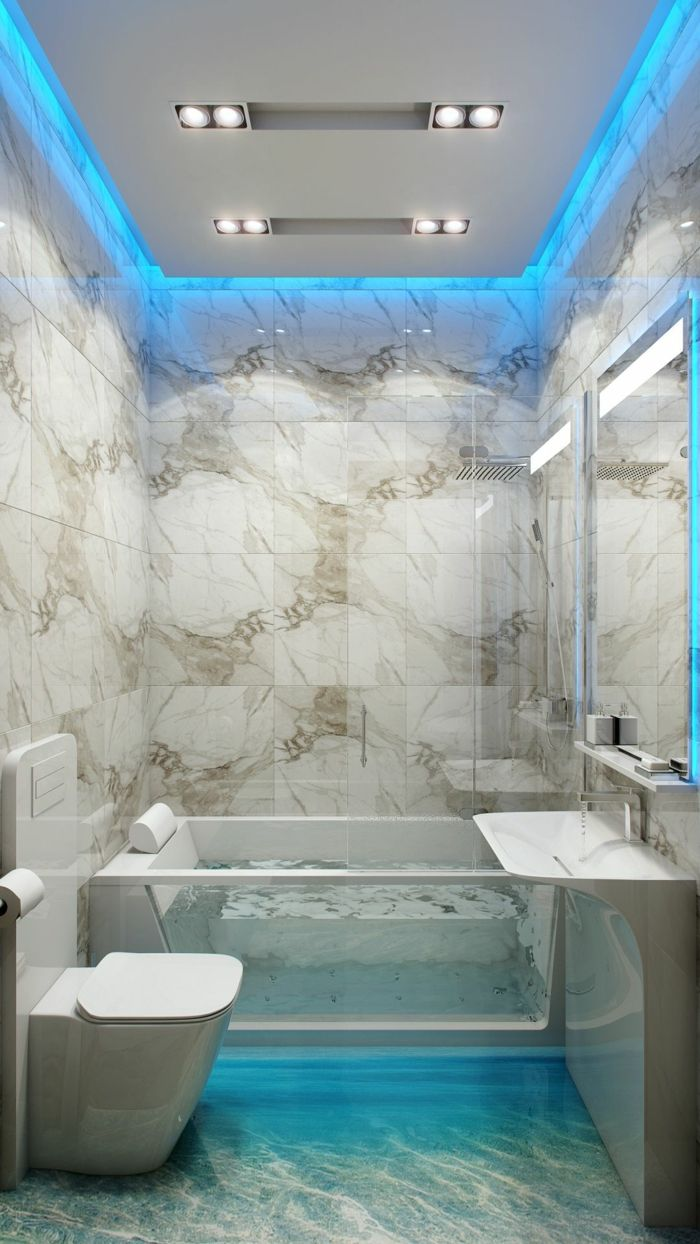 21 Raumkonzepte Fur Indirektes Licht Die Bei Der Lichtplanung Behelfen Badezimmer Design Badezimmerleuchten Modernes Schlafzimmer Design
