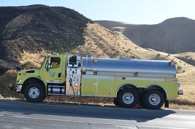Bureau Of Land Management Ca Cnd 3191 Freightliner Water Tender Fire Truck Fire Trucks Trucks Fire Service