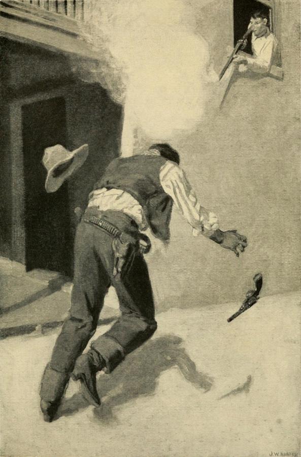 Billy The Kid Killing Robert Ollinger Photograph