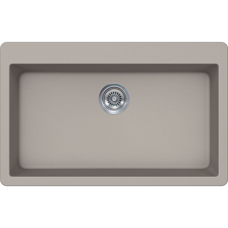 Sinks Kitchen Lexicon Dolce Quartz Composite Stainless
