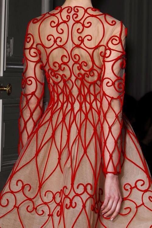 Inspiração incrível! #vestidodegradil