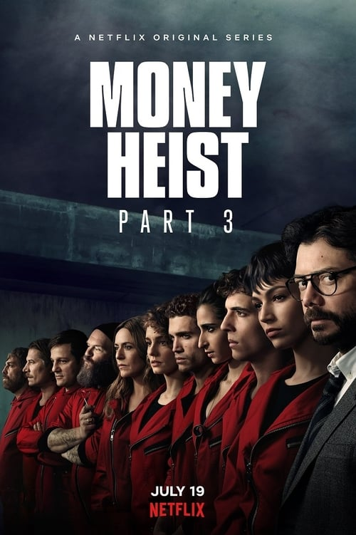 Money Heist 2019 S03 Complete Hindi NF Series 720p HEVC HDRip 1.7GB Download
