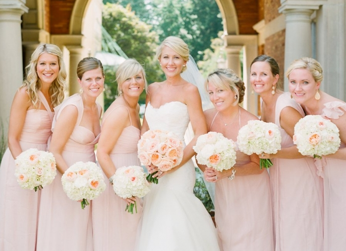 1000  images about Pink Bridesmaid Dresses on Pinterest  Pink ...