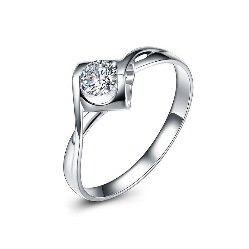 The Kiss Wheat Shape 925 Sterling Silver Ring