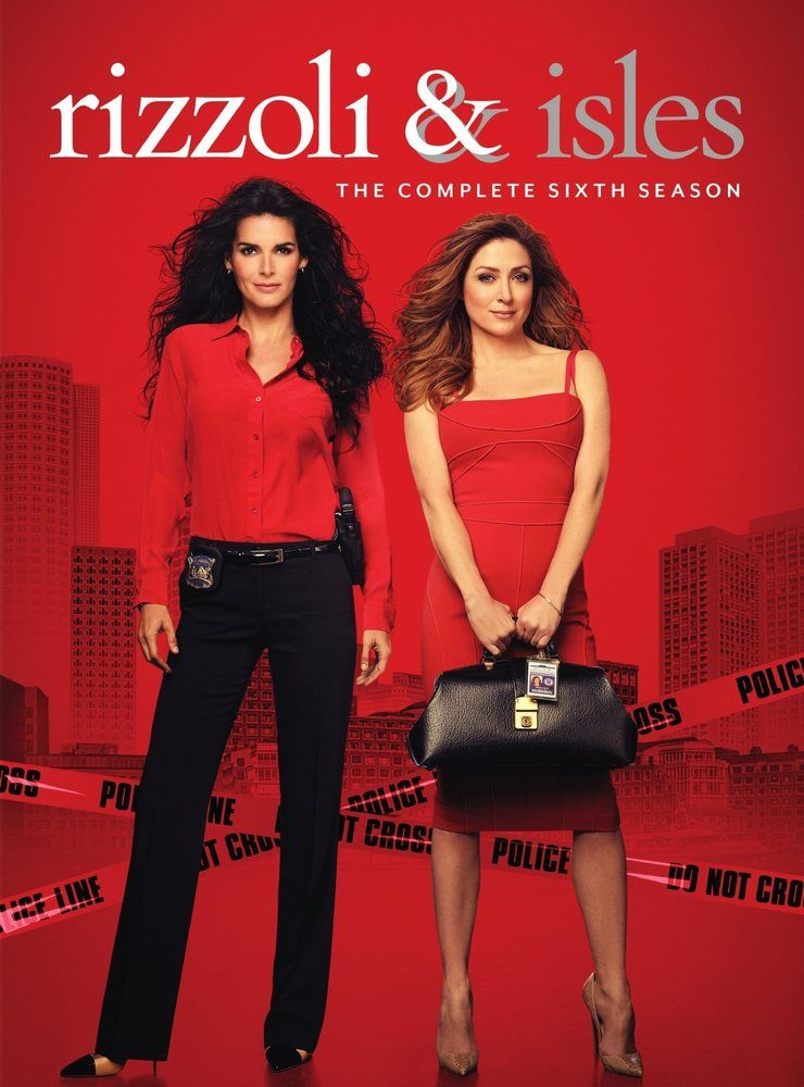 Rizzoli And Isles The Complete Sixth Season 8 Discs Dvd Best Buy Rizzoli Maura Isles Movies And Tv Shows