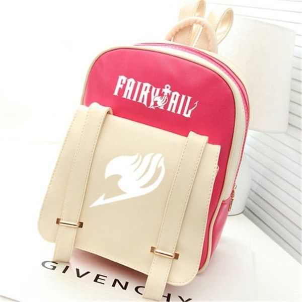 Très Siawasey Fairy Tail Anime Natsu Dragneel Cartoon Backpack Shoulder  JC36