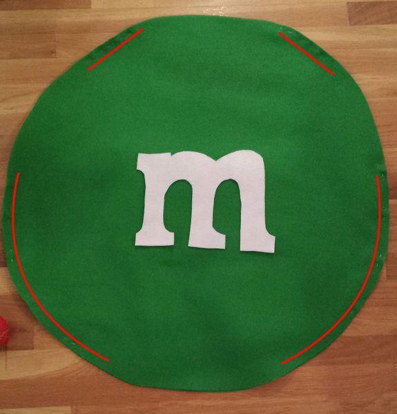 No-Sew DIY M & M Costume — Boston Mamas