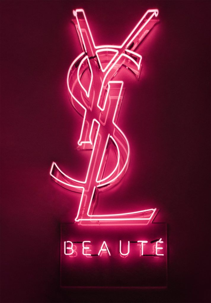 Ysl Beaute Kemp London Bespoke Neon Signs Prop Hire