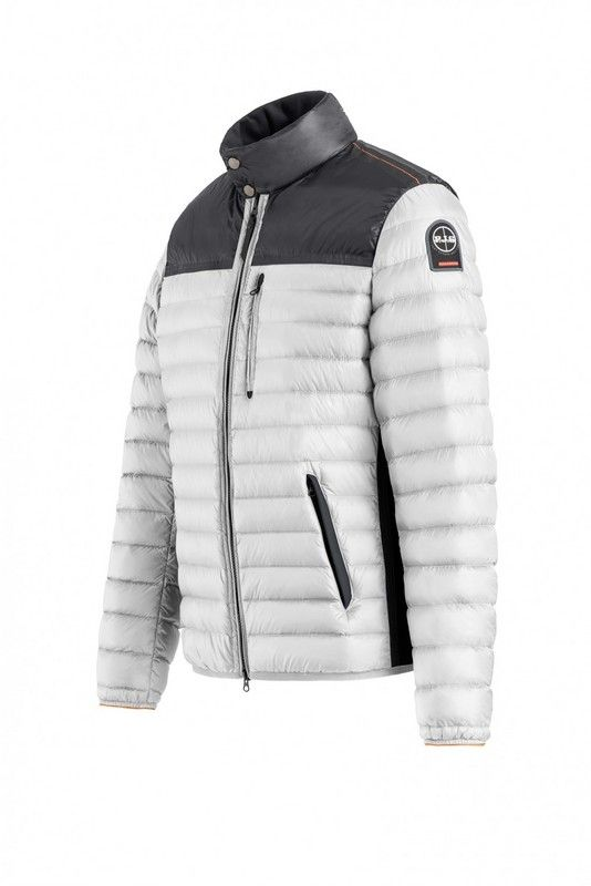 4817d742 Direct Parajumpers Kochi Jacket Mens White Black | Parajumpers Mens ...