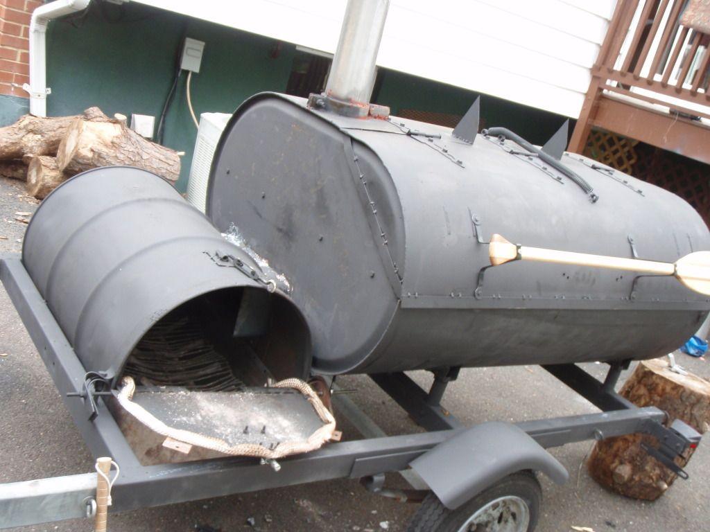 Homemade grills and smokers homemade smoker trailer