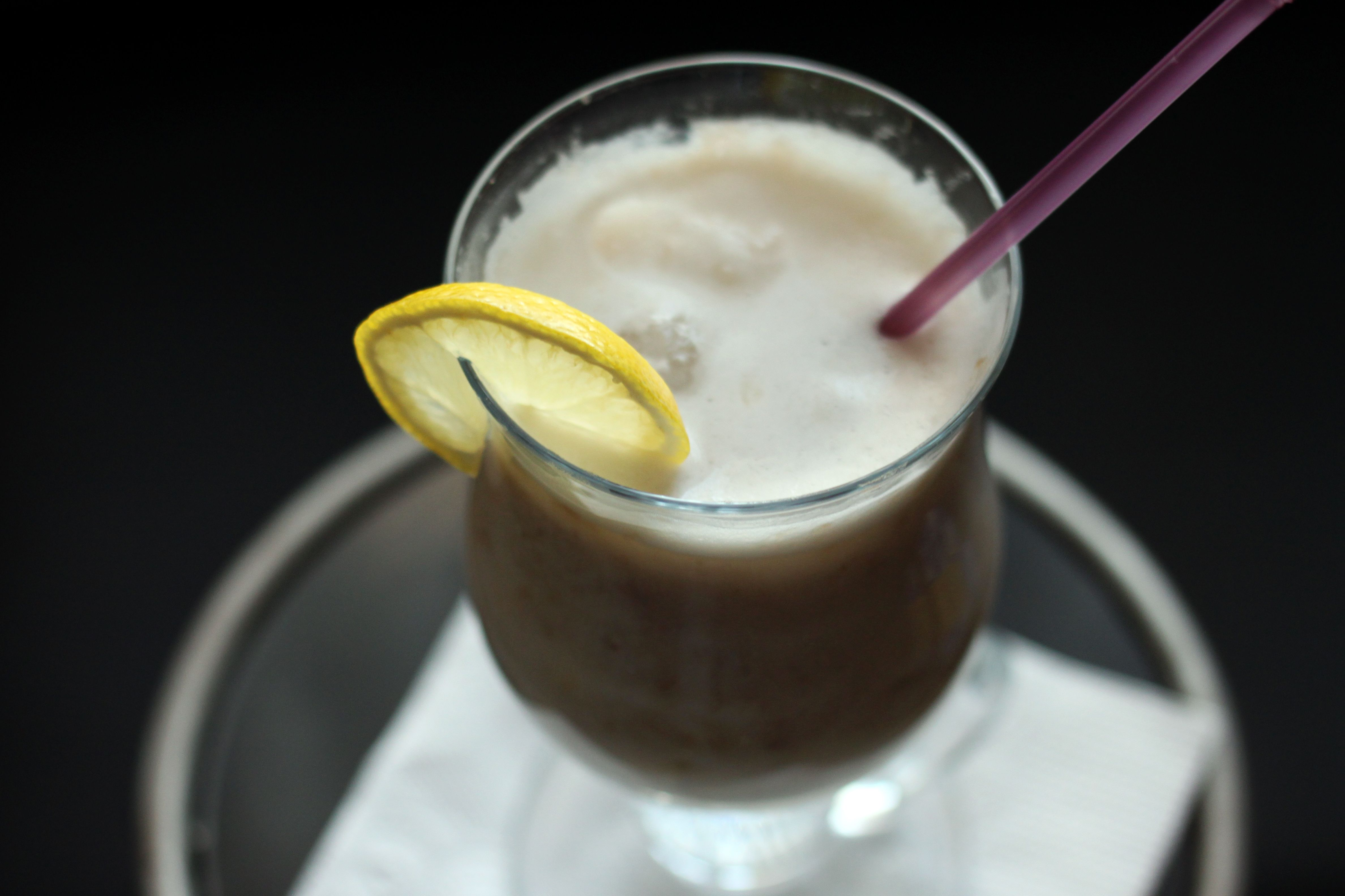 How to make a banana smoothie without a blender banana