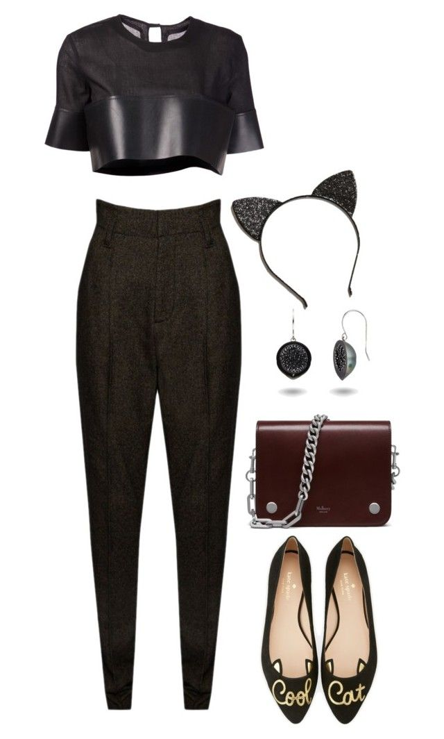 """""""Untitled #230"""" by ihopesomeday ❤ liked on Polyvore featuring Alice + Olivia, Phoebe English, Kate Spade and Urban Outfitters"""