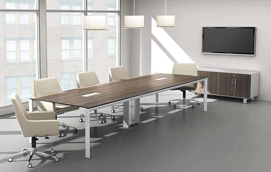 Conference Room Tables Glass Wood Office Table
